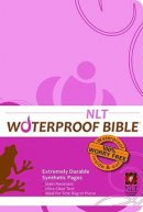 NLT Waterproof Bible Pink Brown Floral