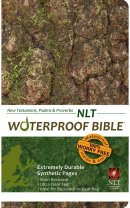 NLT Waterproof Bible Camouflage New Testament Psalms and Proverbs