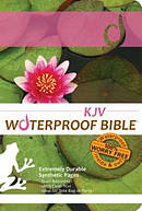 KJV Waterproof Bible Lilypad