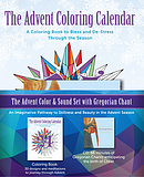 Advent Color and Sound Set with Gregorian Chant [With CD (Audio)]