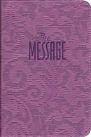 The Message: Paperback, Lavender Embossed