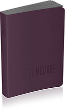 The Message Bible - Compact Purple Imitation Leather