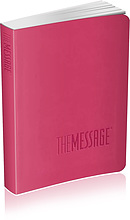 The Message Bible : Rose Pink, Compact, Imitation Leather