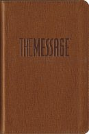 The Message Compact Bible: Tan, Leather-Look
