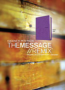 Message Remix 2.0 Purple Swirl Leather Look