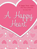 Happy Heart Note Book