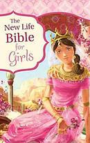 New Life Bible For Girls Hardback