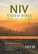 NIV Video Bible: Audio And Text On DVD (Value Price)