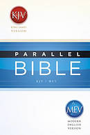 KJV/MEV Parallel Bible: Hardback