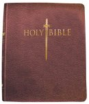 Kjv Sword Study Bible/Giant Print-Burgundy Genuine Leather