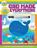 God Made Everything Wipe-Clean Storybook Paperback