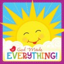 God Made Everything Christian Padded Board Book