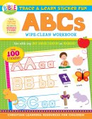 Trace & Learn Sticker Fun: ABCs Wipe-Clean Workbook