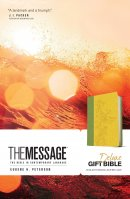 The Message Deluxe Gift Bible