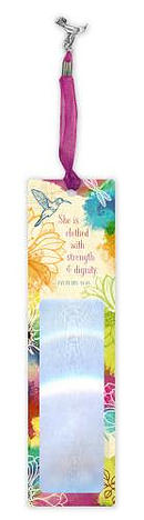 Strength & Dignity Magnifier Bookmark