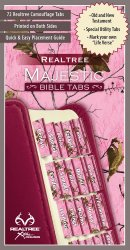 REALTREE™ Pink Camo Bible Tabs