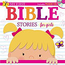 My First Bible Stories for Girls with CD