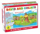 Puzzle-David And Goliath Floor Puzzle w/CD (Ages 4+) (48 Pieces)