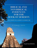 Bibical And Nonbiblical Evidences For The Book Of Mormon : THAT SHOW ITS VALIDITY AS SCRIPTURE: A Layman's Thesis