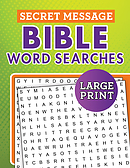 Secret Message Bible Word Searches Large Print