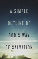 Simple Outline Of God'S Way Of Salvation (Pack Of 25)