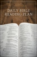 Daily Bible Reading Plan (Pack of 25)