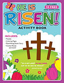 He Is Risen!: Activity Book and Free Album Download [With 20 Free Song Downloads]