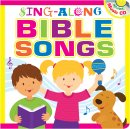 Sing-Along Bible Songs Storybook For Kids w/CD