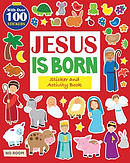 Jesus Is Born Sticker and Activity Book