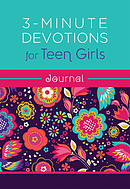 3-Minute Devotions for Teen Girls Journal
