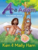A is for Adam Colouring Book