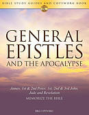 General Epistles and the Apocalypse: Bible Study Guides and Copywork Book  - (James, 1st & 2nd Peter, 1st, 2nd & 3rd John, Jude and Revelation) - Memo