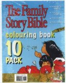 Family Story Bible Colouring Book 10-Pack