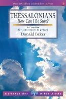 LifeBuilder Bible Study: 1 & 2 Thessalonians