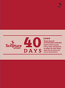 40 Days: John Prayer Journal