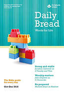 Daily Bread (October - December 2018) - Large Print