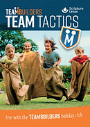 TeamBuilders Team Tactics booklet for 5-8s