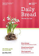 Daily Bread January-March 2019