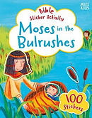 Moses in the Bulrushes Bible Sticker Activity