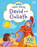 David and Goliath Bible Sticker Activity