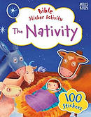 The Nativity Bible Sticker Activity