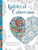 Biblical Colouring Book: Heart