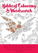 Biblical Colouring & Wordsearch Book: Bird