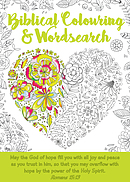 Biblical Colouring & Wordsearch Book: Heart