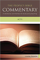 Acts : People's Bible Commentary