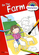 Rainbow Colouring Book On The Farm