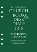 The Canterbury Church Book and Desk Diary 2016 A5 Organiser
