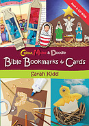 Colour, Make & Doodle Bible Bookmarks And Cards