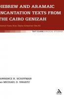 Hebrew and Aramaic Incantation Texts from the Cairo Genizah