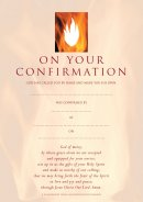 Confirmation Certificates - Pack of 10